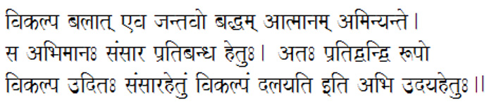 shuddha-vikalpa
